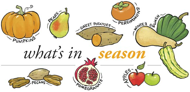 What's in Season: Fall 2016