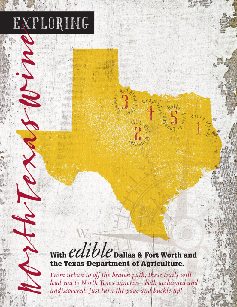 north texas wine guide cover