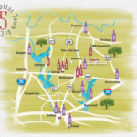 dallas town & country wine trail